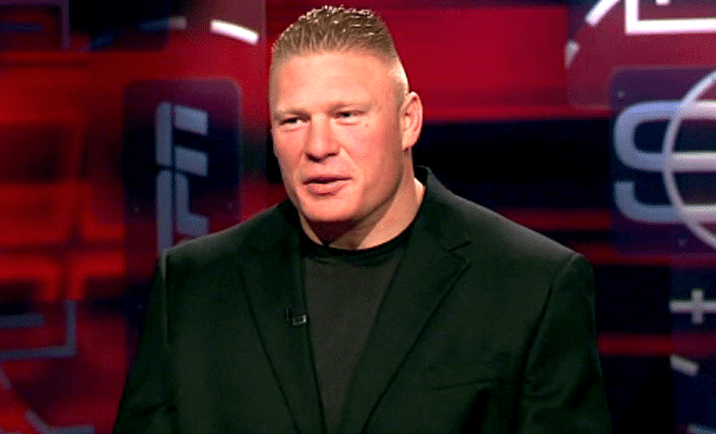 Brock Lesnar Discusses The Undertaker, Dana White's Comments on ESPN