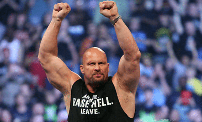 """Stone Cold"" Steve Austin says he wants Brock Lesnar in a Texas Death Match at WrestleMania 32"