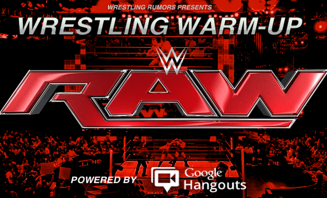 WRESTLING WARM-UP: July 18th, 2016