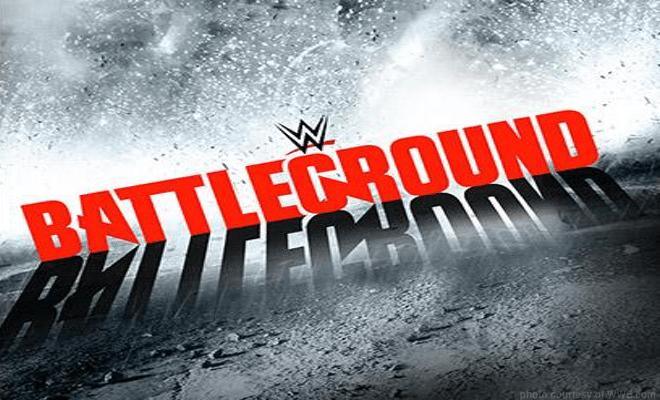 "Current WWE ""Battleground"" PPV Card!"