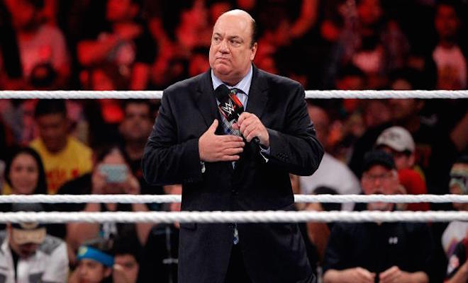 Paul Heyman's Contract With WWE Has Expired