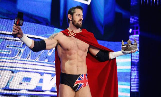 "WWE Writes King Barrett Off Television on ""Monday Night Raw,"" Changes Twitter Handle to Real Name"