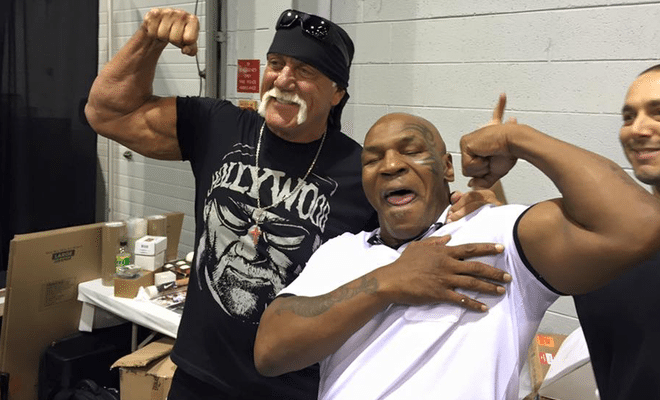 Hulk Hogan Seen Hanging Out With Mike Tyson