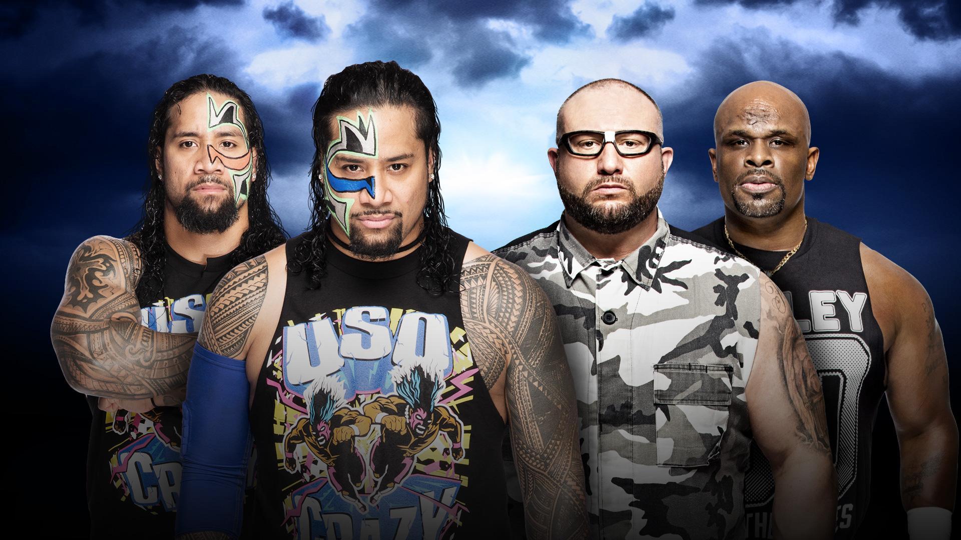 The Usos vs. Dudley Boyz Confirmed for WrestleMania