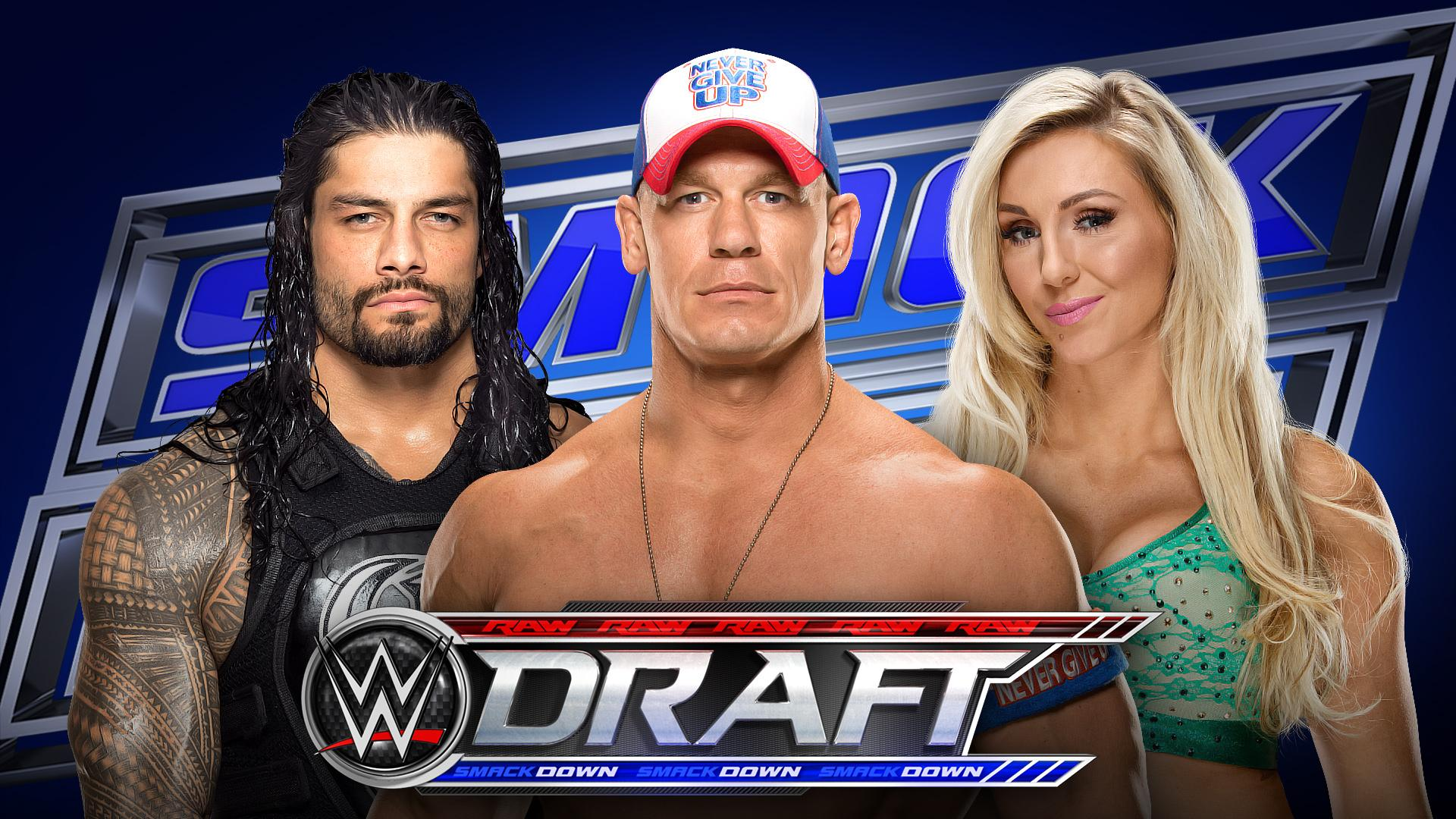 WWE Reveals Official Draft Day