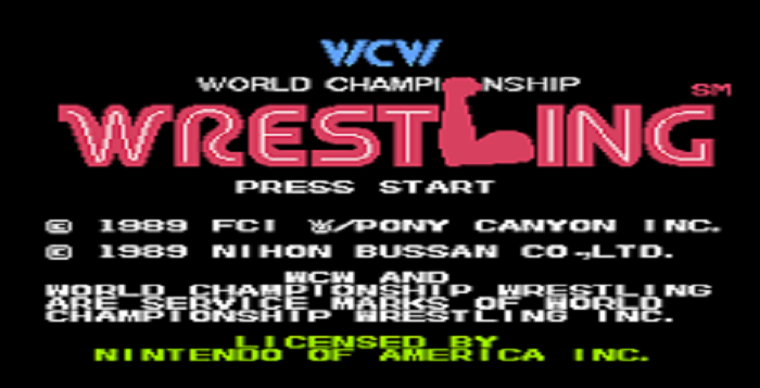 This Is Amazing Thirty Year Old Never Before Seen Wcw Nintendo Game Discovered Wrestlingrumors Net