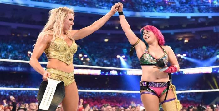 Watch: Charlotte Flair vs. Asuka From Wrestlemania 34 - WrestlingRumors.net
